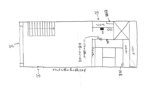スケッチ|the three konohana_間取り