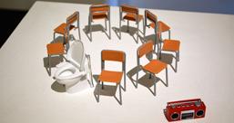 タカスカナツミ個展「ハブラシと、アイボリー、ライト、ブラウンと、ペン、ミュート」