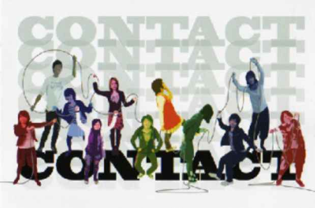 "poster for ""Contact"" Exhibition"