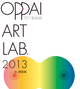 poster for 「OPPAI ART LAB. - πr事情展 2013 - 」
