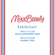 poster for 「MIXX BEAUTY EXHIBITION」