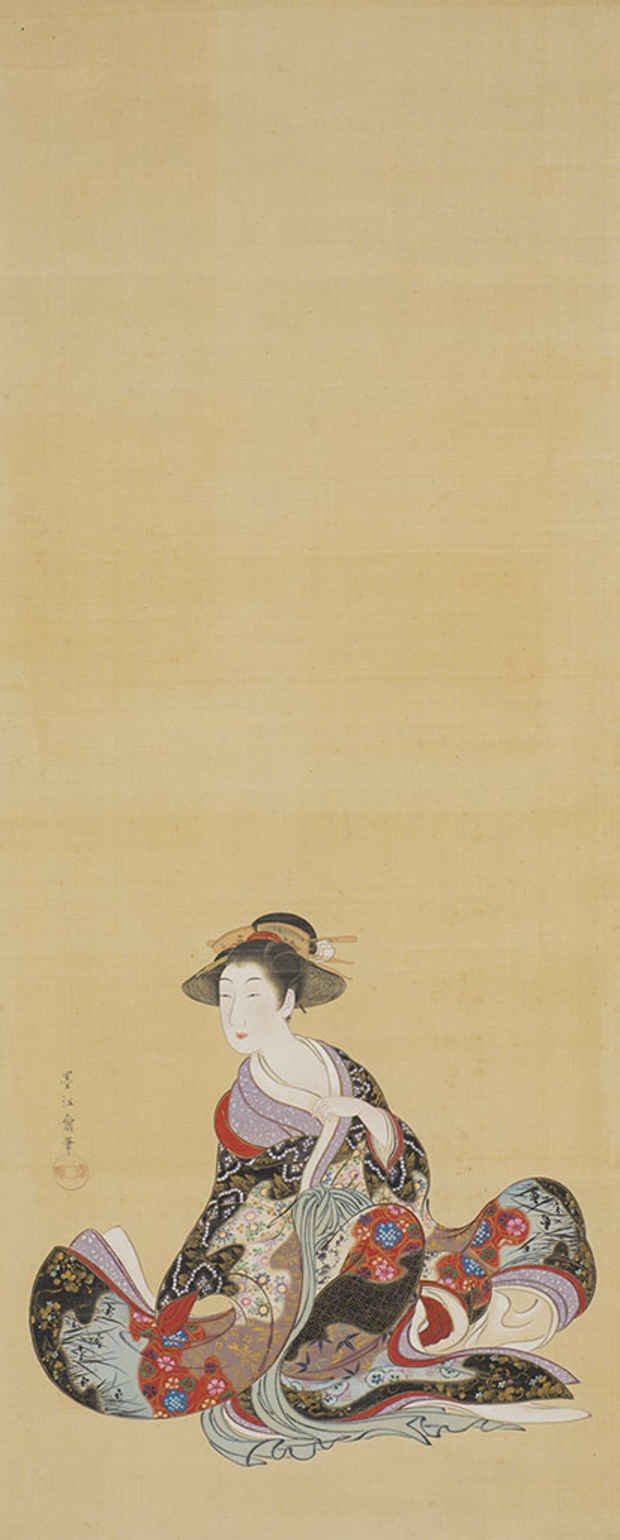 poster for Karaemon, Lovers of Chinese-Style Painting: Buzen, Rōen, Jakuchū, and Others