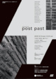 poster for 「experimental studies - post past - 」展