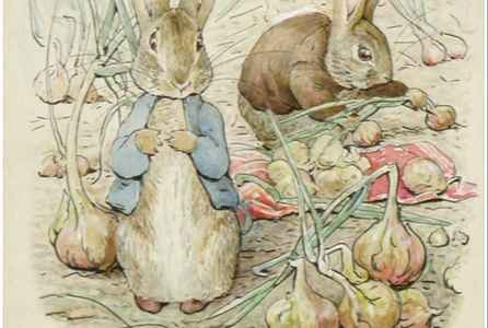 poster for 150 Years of Beatrix Potter - Peter Rabbit Exhibition