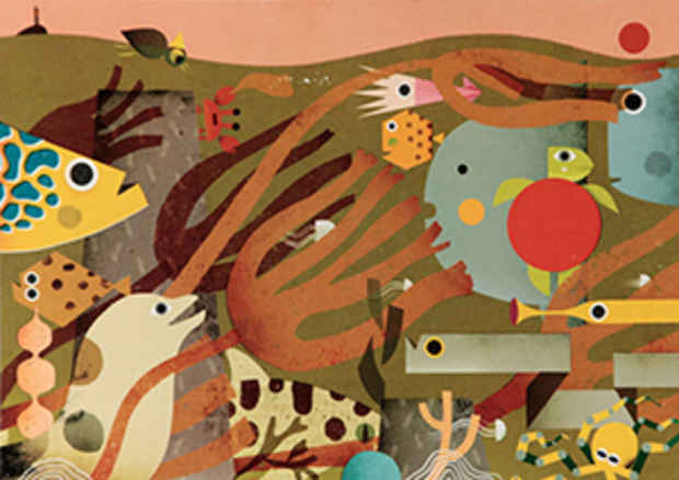 poster for 2016 Bologna Children's Book Fair Exhibition