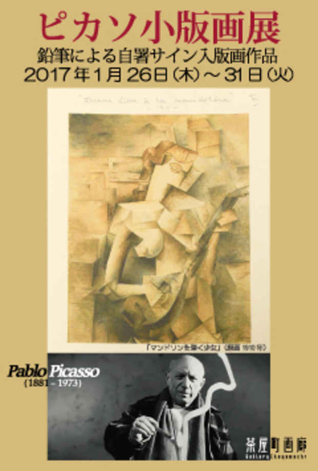 poster for Picasso's Small Prints