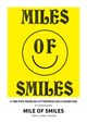 "poster for ""Mile of Smiles"" A Two Pipe Problem Letterpress Exhibition"