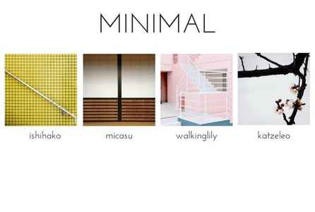 poster for 「MINIMAL」展