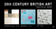 poster for 20th CENTURY BRITISH ART