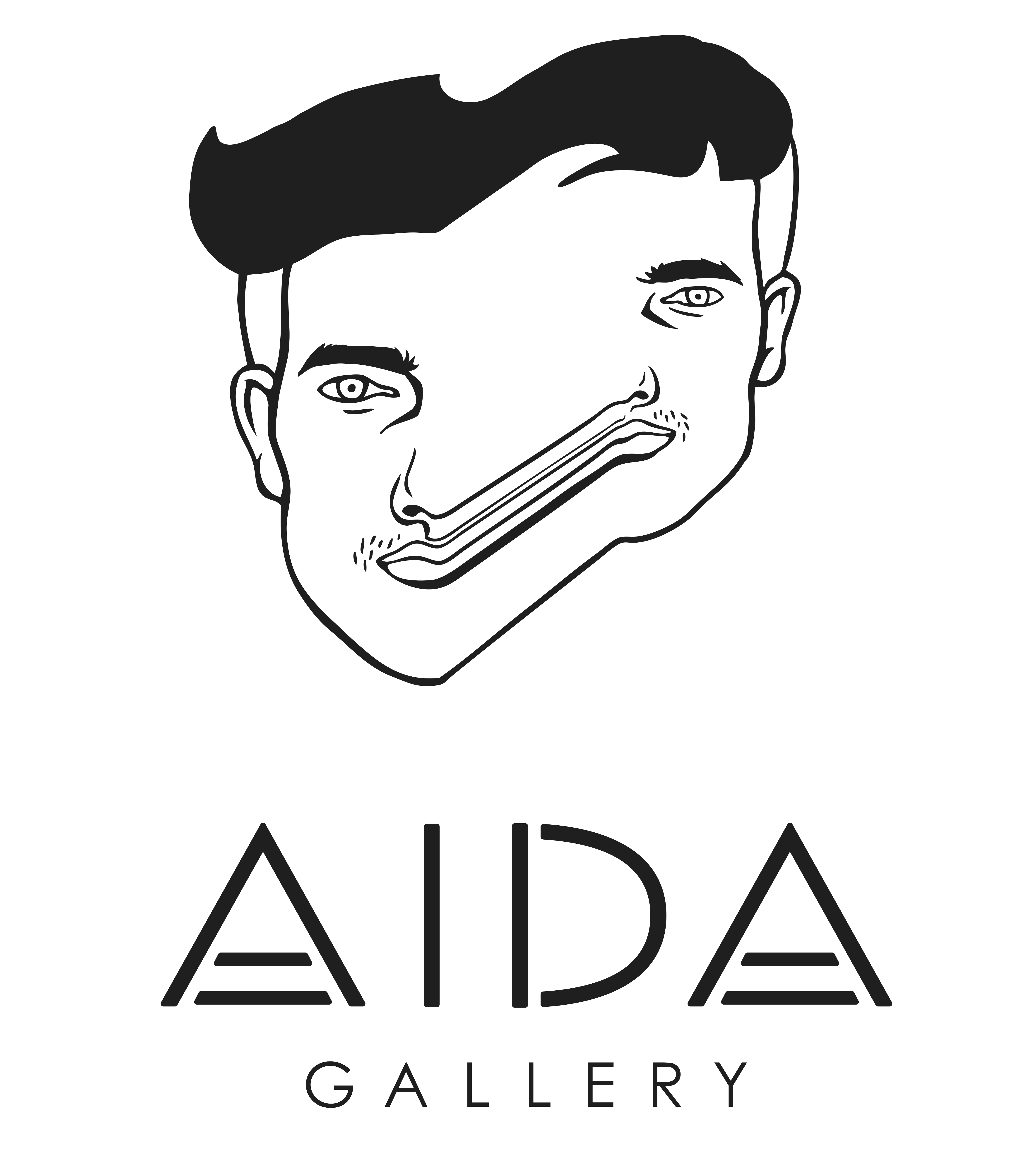poster for AIDA Gallery